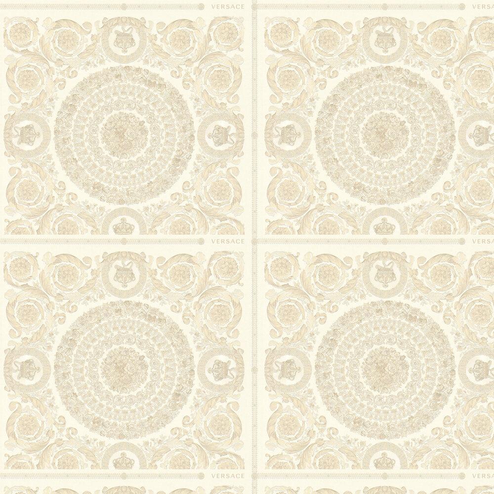 Heritage Wallpaper - Cream - by Versace