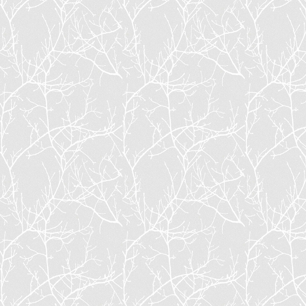 Casadeco Arbre Silver Grey Wallpaper - Product code: 81719124