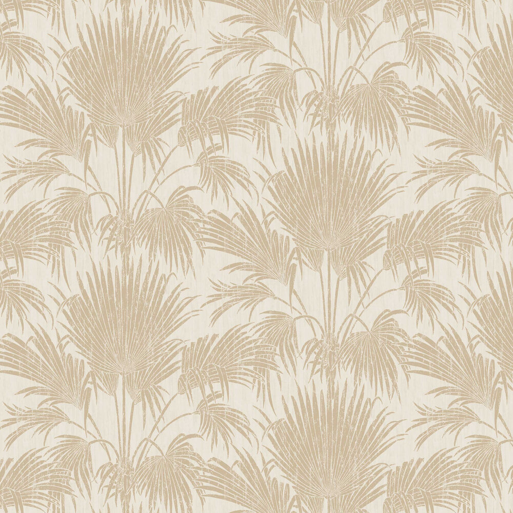 Josephine Wallpaper - Beige - by Casadeco