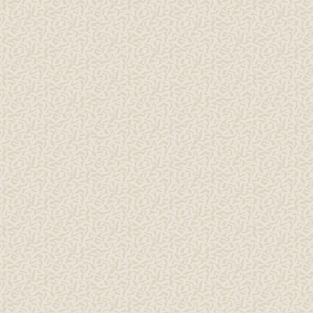 Polygone Wallpaper - Beige - by Casadeco