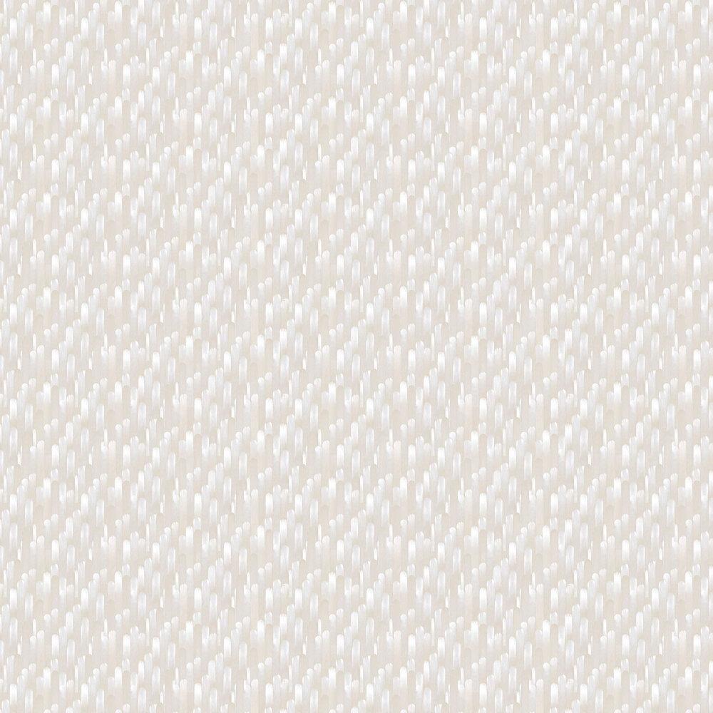 Ocelle Wallpaper - Grey - by Casadeco