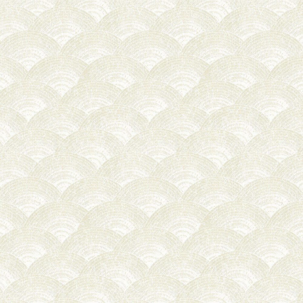 Casadeco Walter Irise Beige Wallpaper - Product code: 84080220