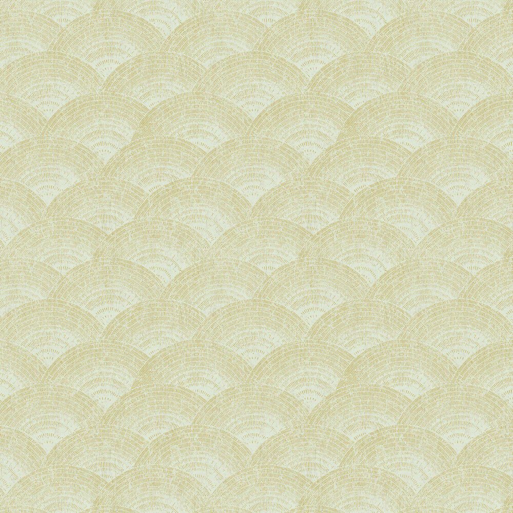 Casadeco Walter Foil Almond Wallpaper - Product code: 84097230