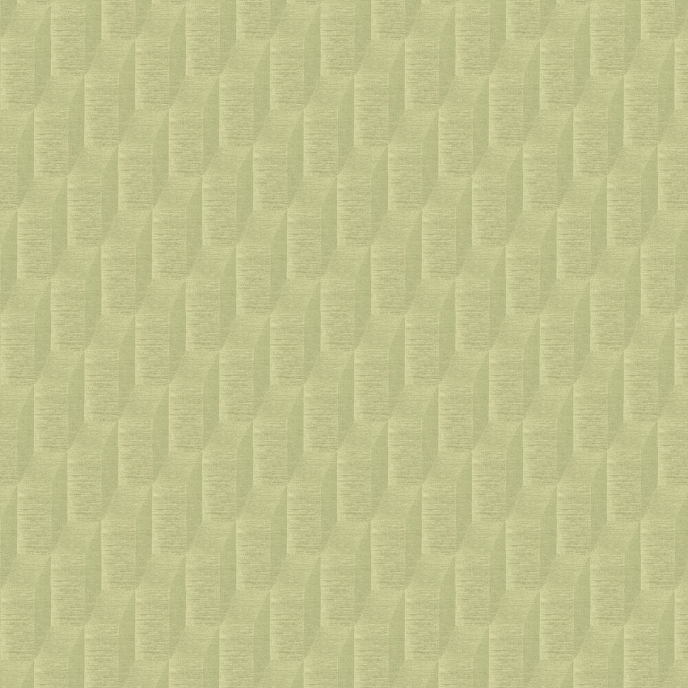 Geometric Wallpaper - Pale Brass - by Brewers