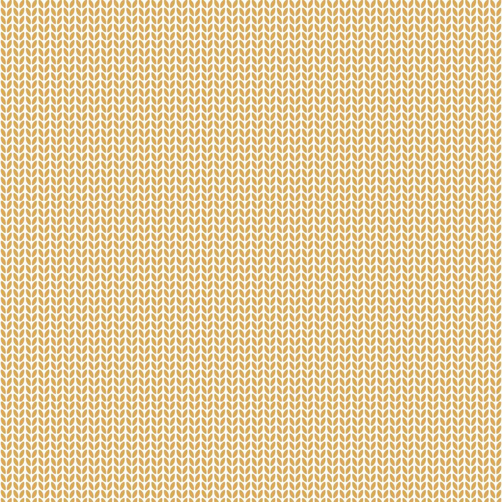 Caselio Simplicity Ochre Wallpaper - Product code: 100552222