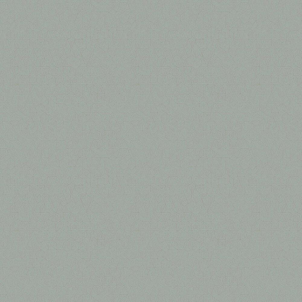 Delta Wallpaper - Grey / Green - by Casadeco