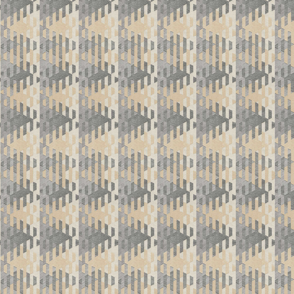 Casadeco Yana Grey Wallpaper - Product code: 84161403