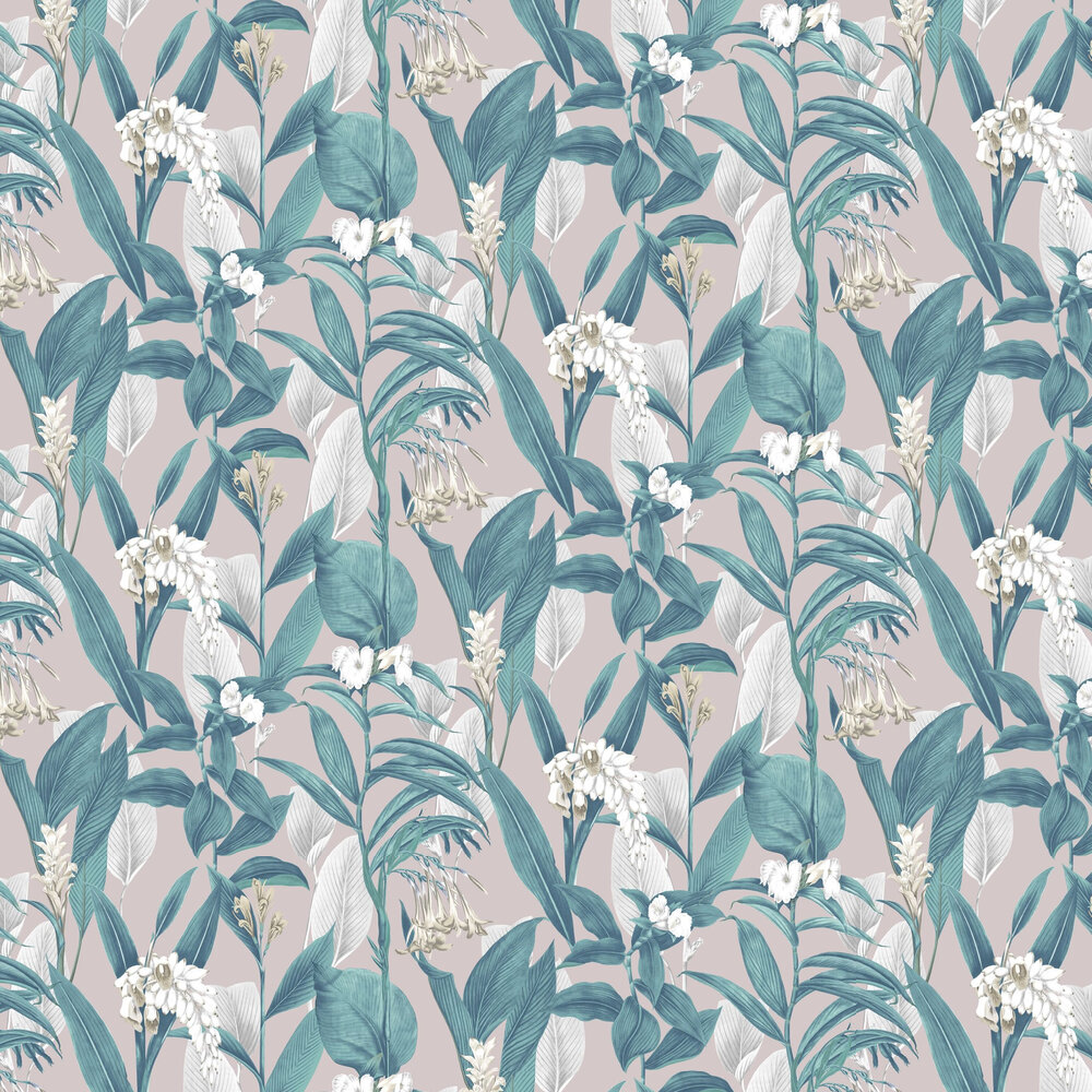 Botanical Wallpaper - Dusk - by Graham & Brown