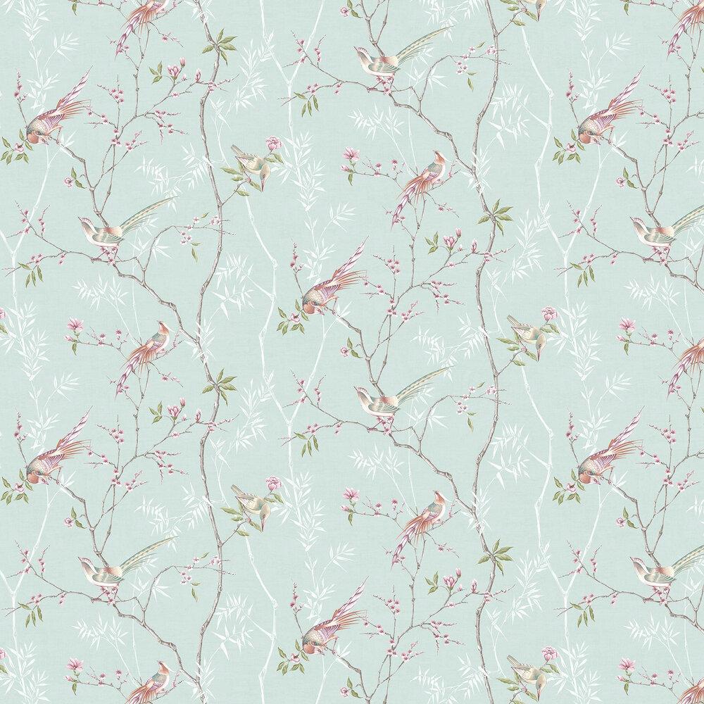 Tori Wallpaper - Duck Egg - by Graham & Brown