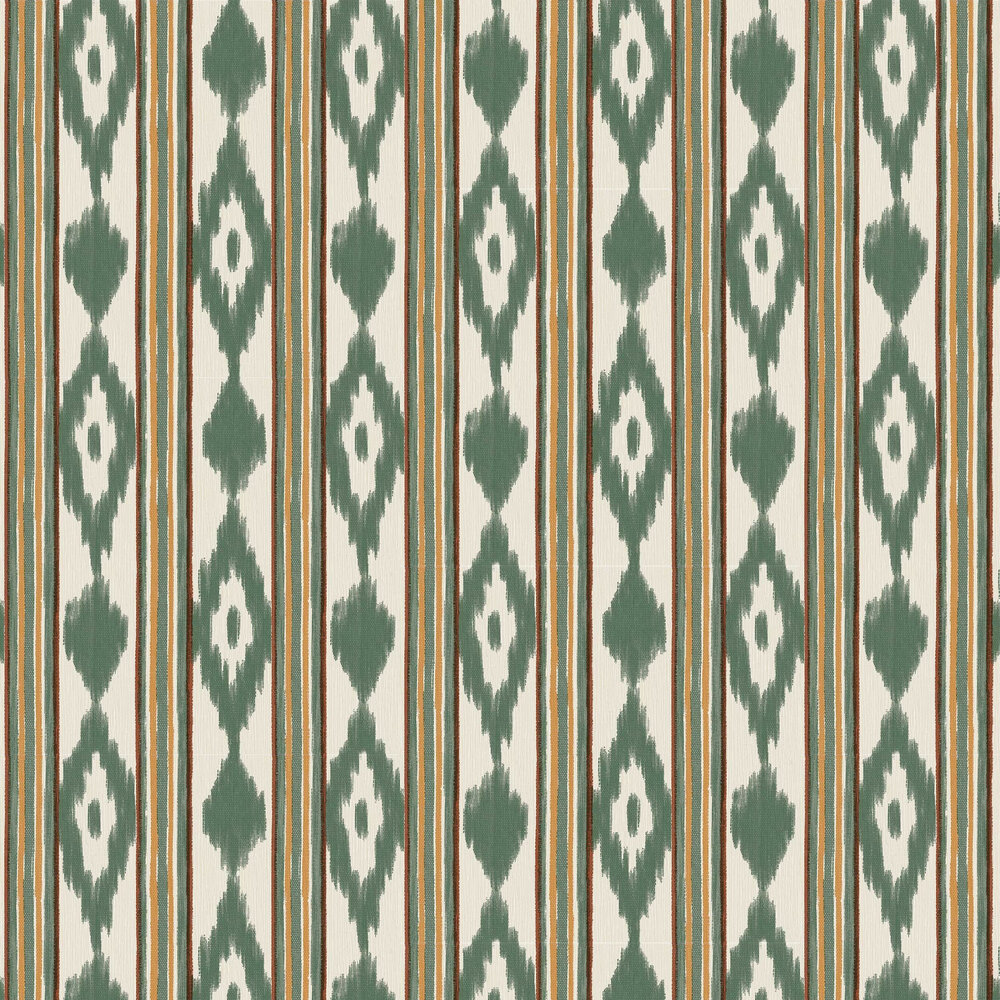 Lloseta Wallpaper - Green - by Coordonne