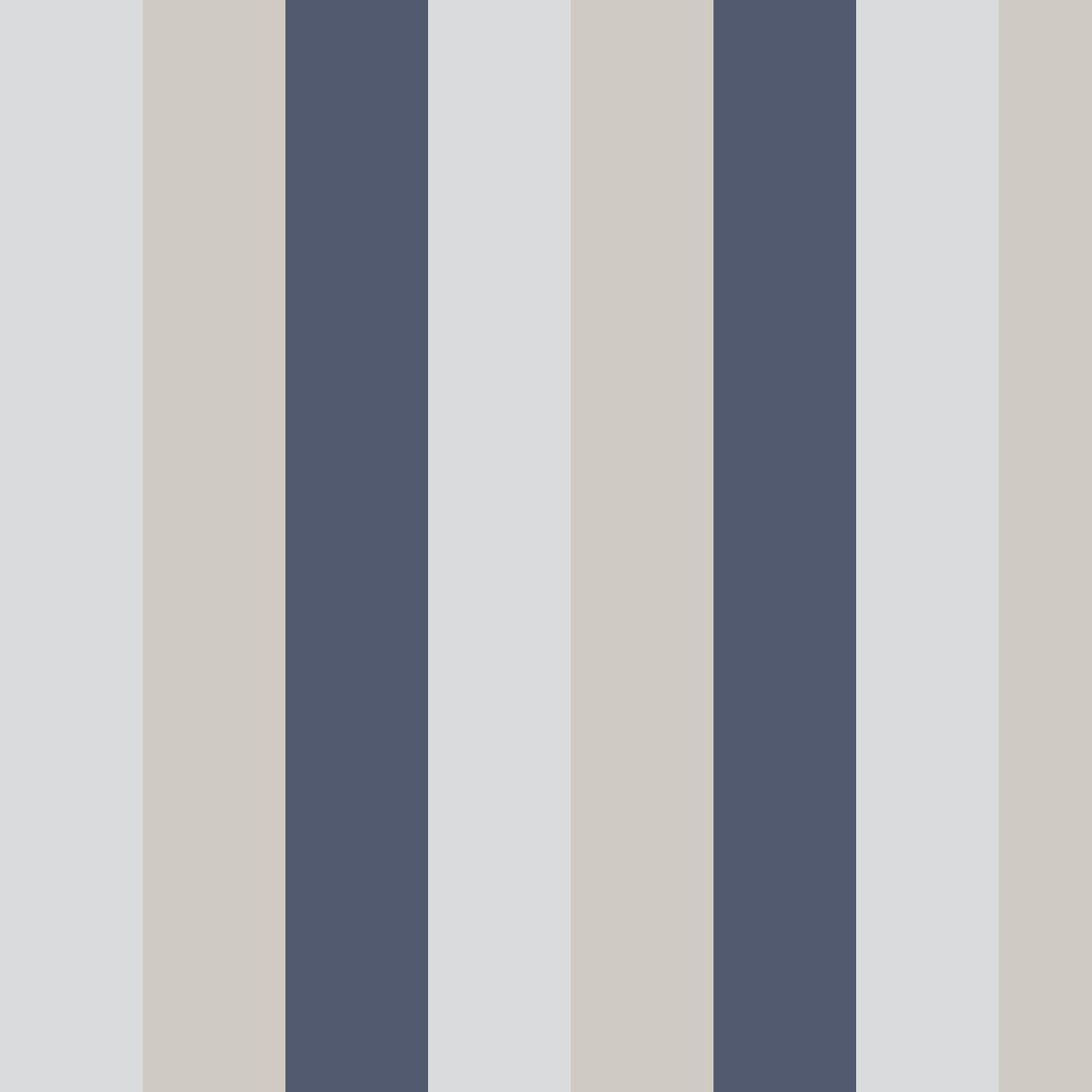 Graham & Brown Figaro Navy Wallpaper - Product code: 106351
