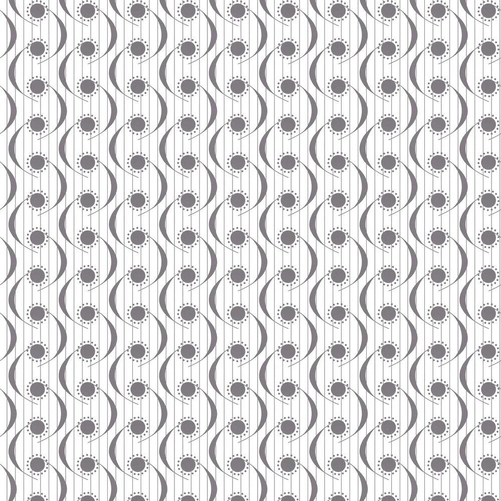 Layla Faye Dot Swish Monochrome Wallpaper - Product code: LF1069