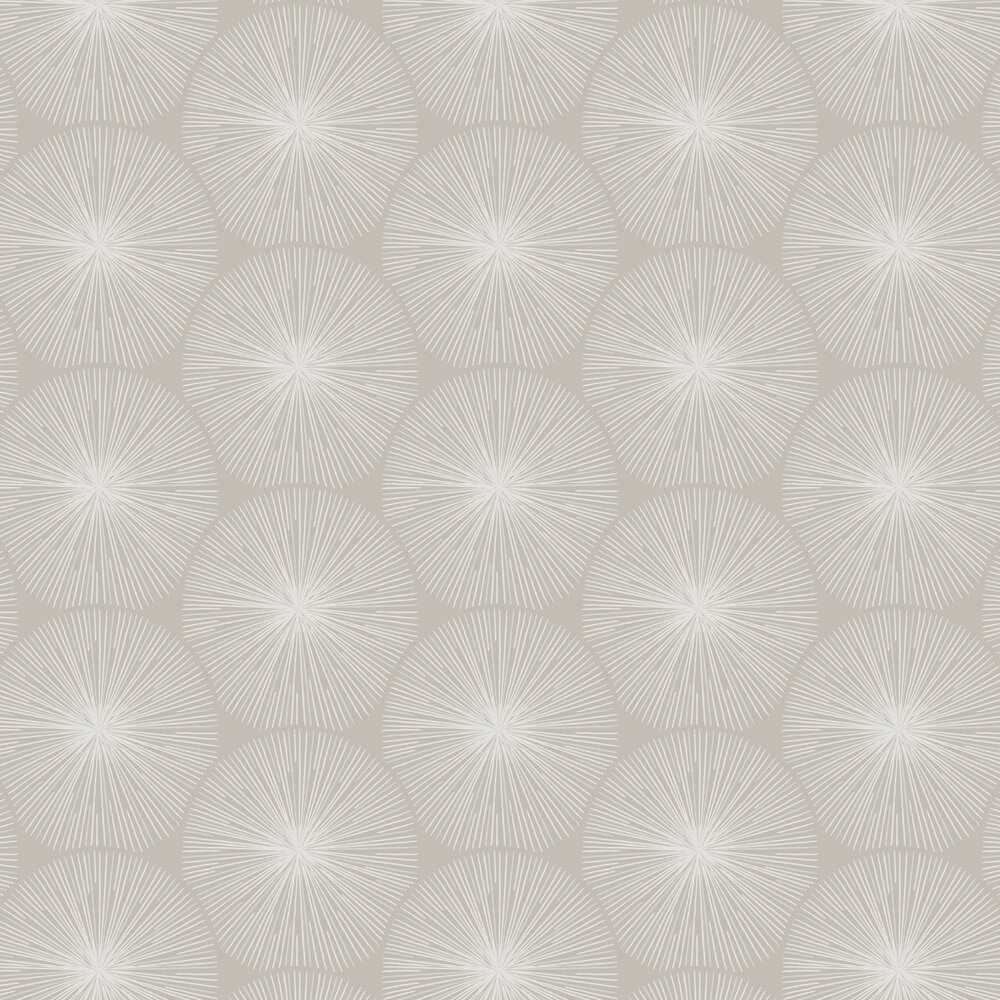 Eclat Wallpaper - Taupe - by Casadeco