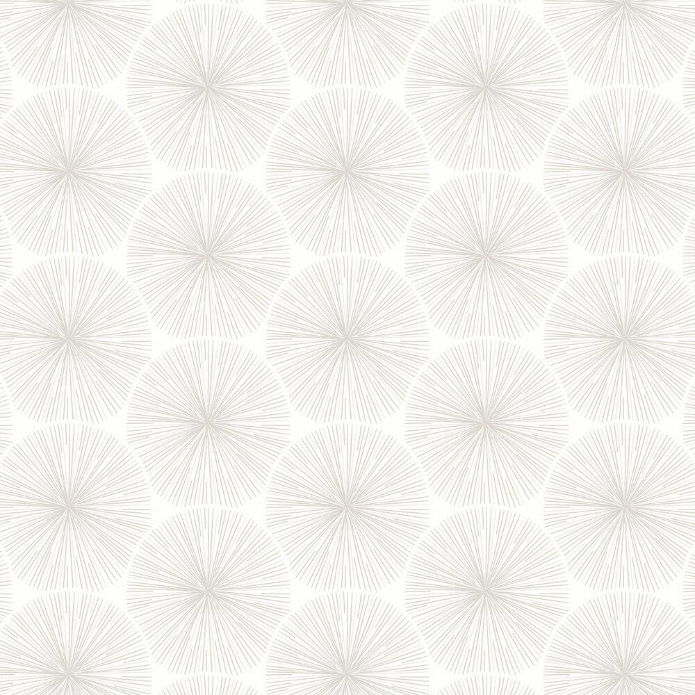 Eclat Wallpaper - Cream - by Casadeco