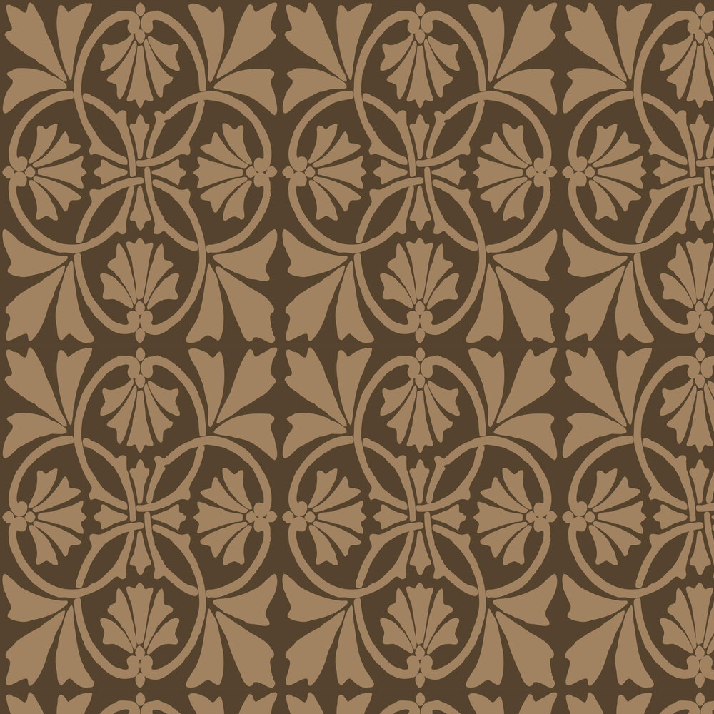 Thrones Wallpaper - Mocha - by Graham & Brown