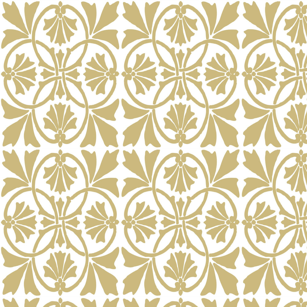 Thrones Wallpaper - Golden Pearl - by Graham & Brown