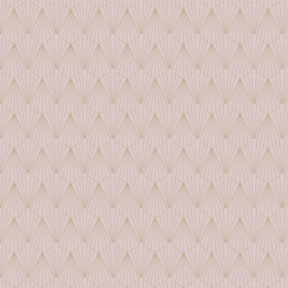 Rene Wallpaper - Blush - by Graham & Brown