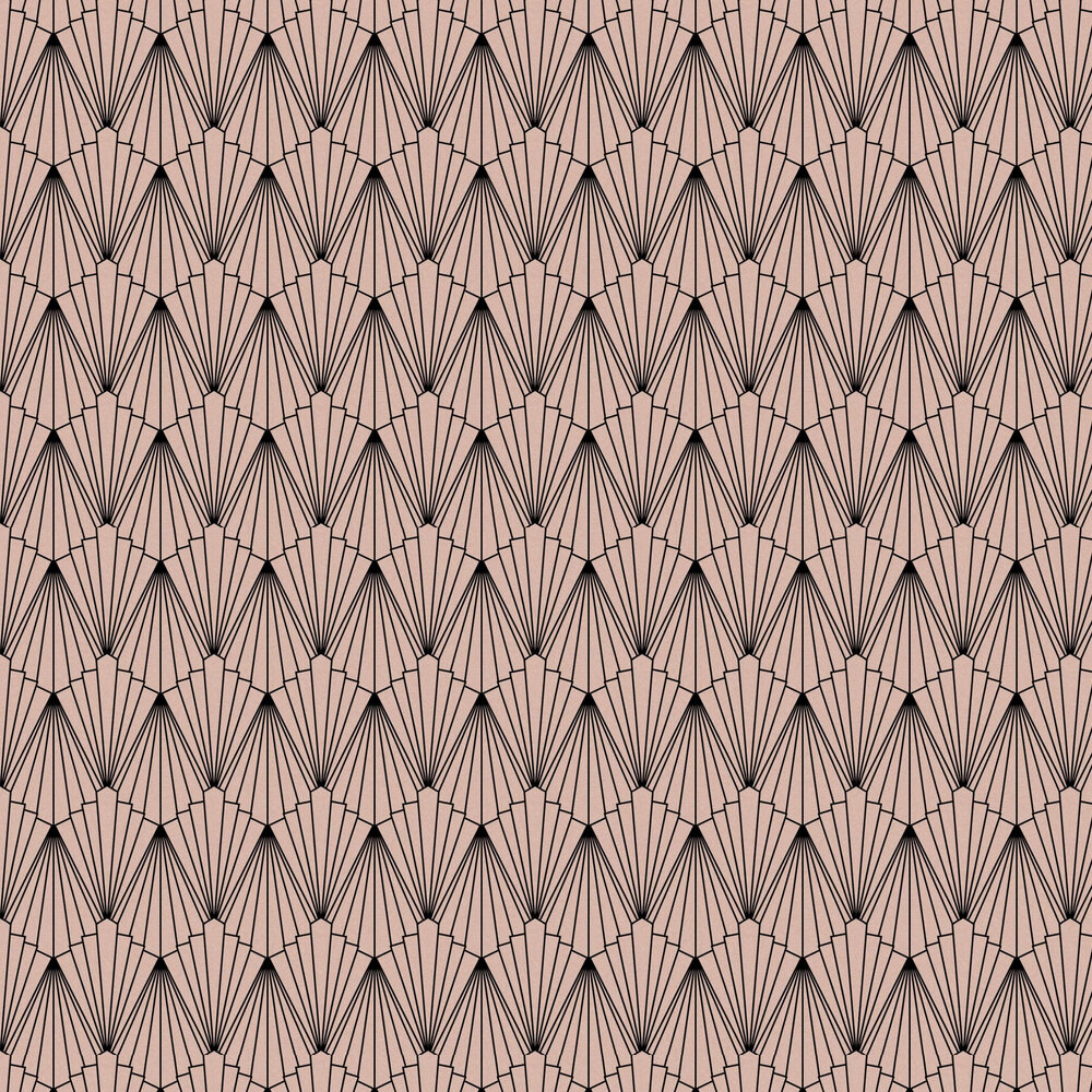Rene Wallpaper - Rose Gold - by Graham & Brown