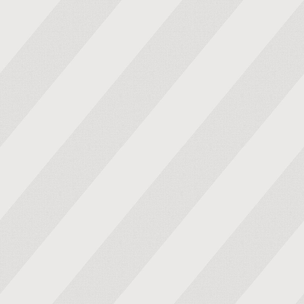 Oblique Wallpaper - Grey - by Casadeco