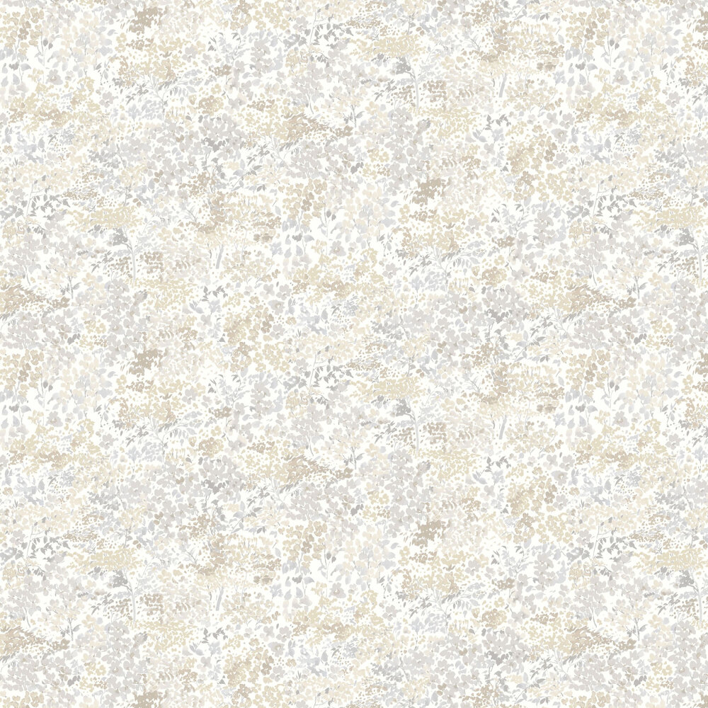 Huntingdon Wallpaper - Grey - by Casadeco