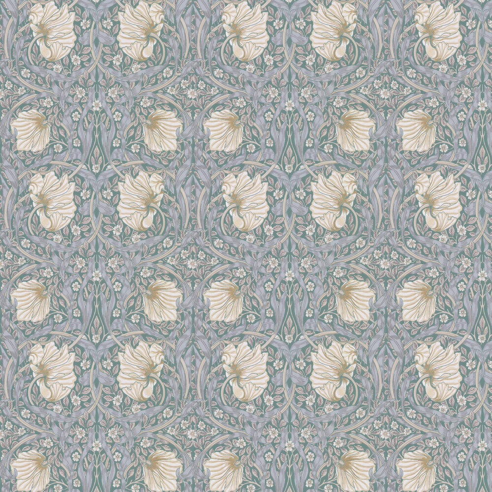 Pimpernel Wallpaper - Eggshell / Ecru - by Morris