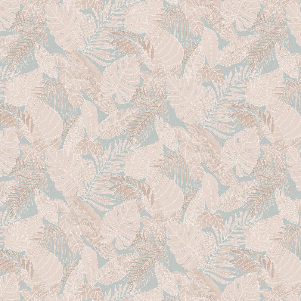 Tropical Wallpaper - Jade - by Zoom by Masureel