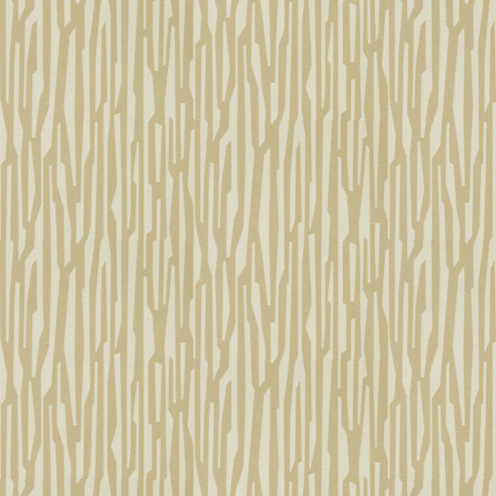Zendo Wallpaper - Bronze - by Harlequin