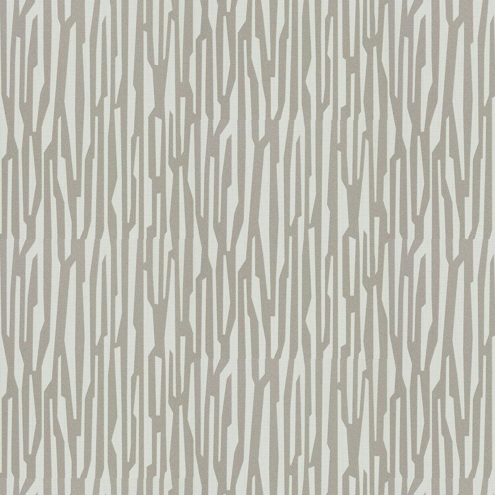 Zendo Wallpaper - Dove - by Harlequin