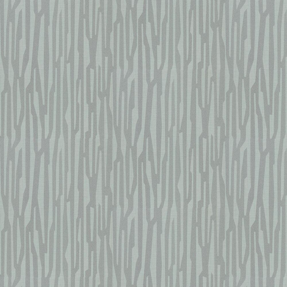Zendo Wallpaper - Nickle - by Harlequin