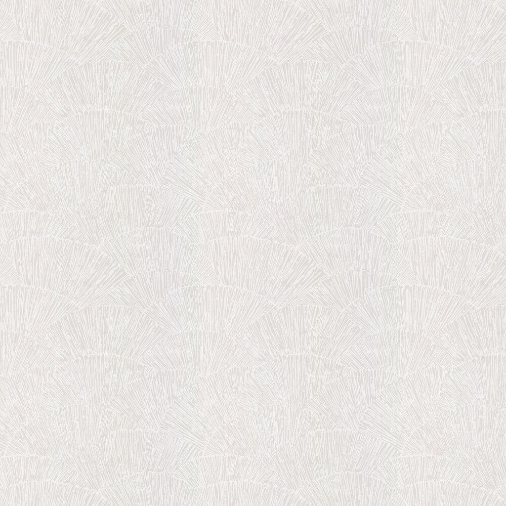 Tessen Wallpaper - Oyster - by Harlequin