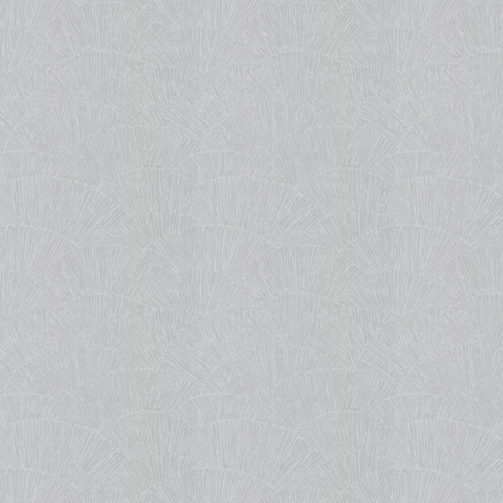 Tessen Wallpaper - Titanium - by Harlequin