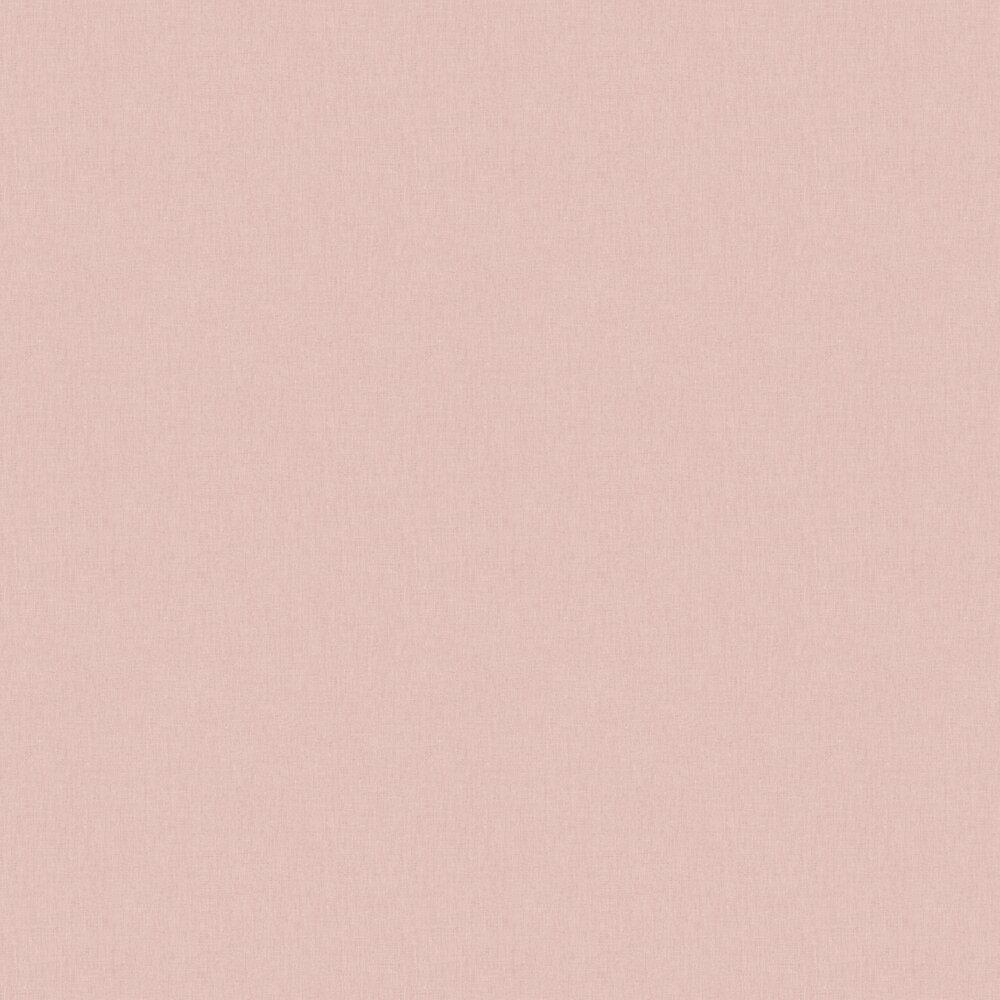 Linen Wallpaper - Light Pink - by Caselio