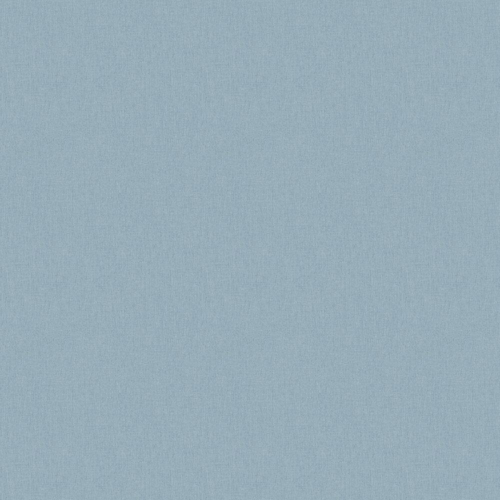 Linen Wallpaper - Light Blue - by Caselio