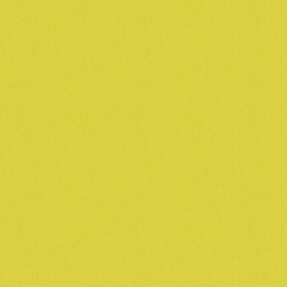 Linen Wallpaper - Acid Green - by Caselio
