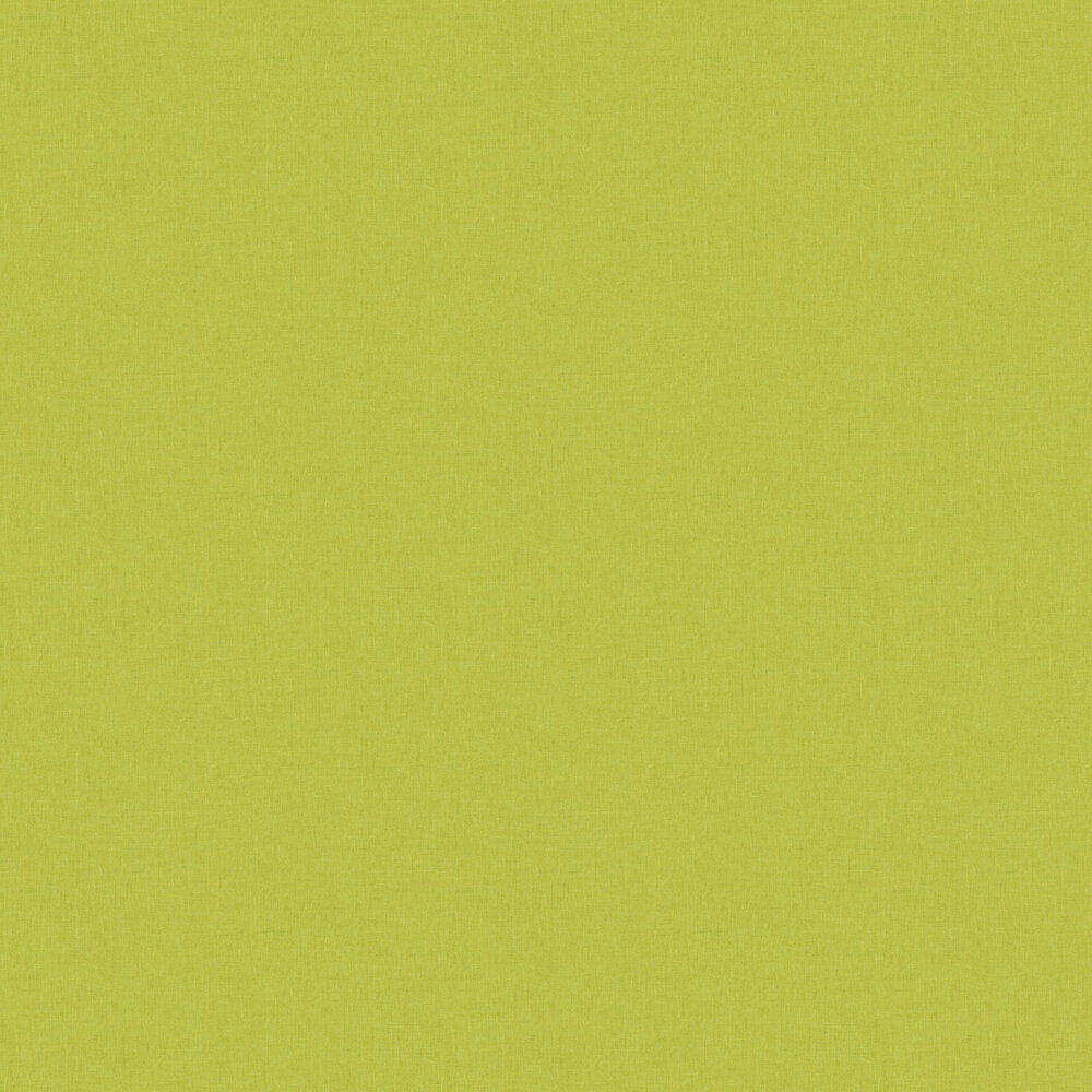 Linen Wallpaper - Medium Green - by Caselio