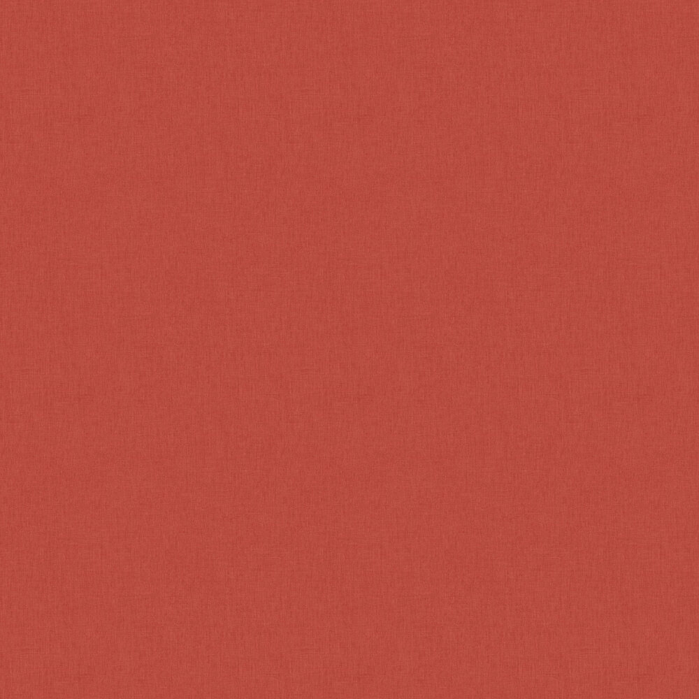 Linen Wallpaper - Red - by Caselio