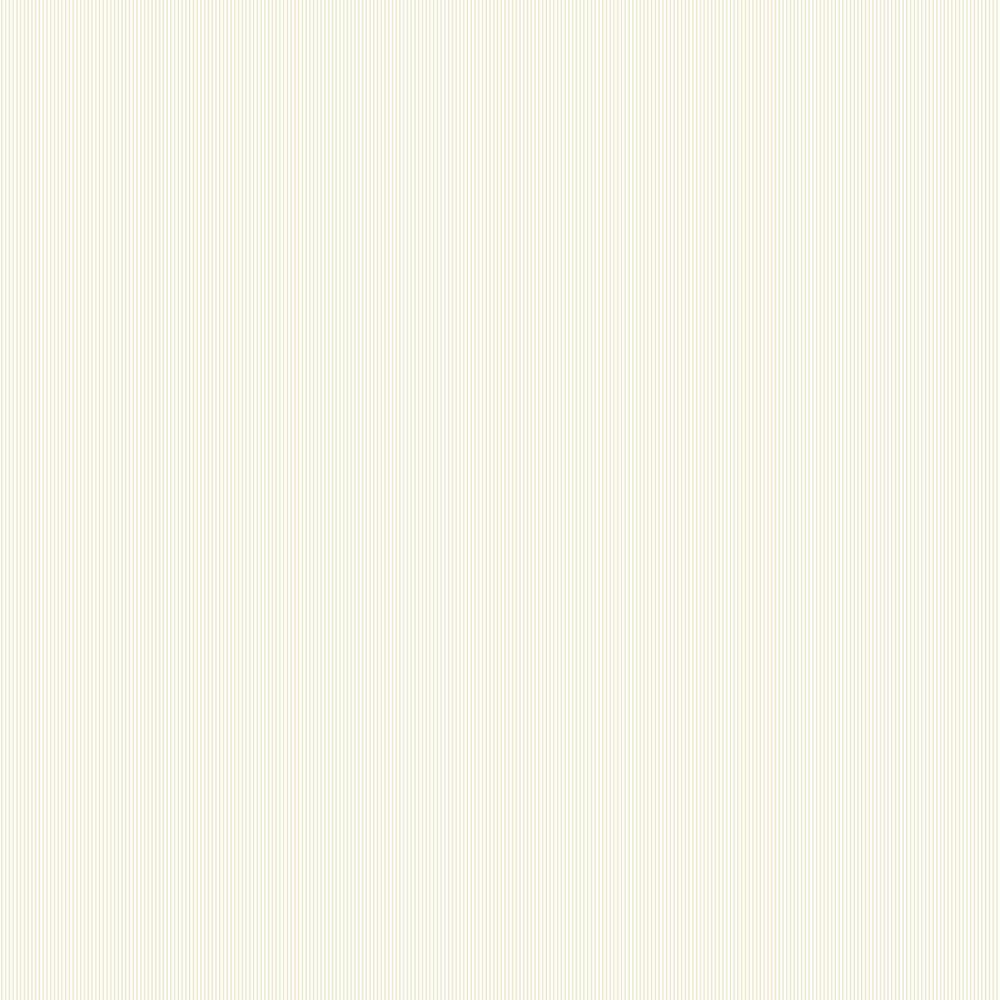 Fine Stripe Wallpaper - Beige - by Galerie