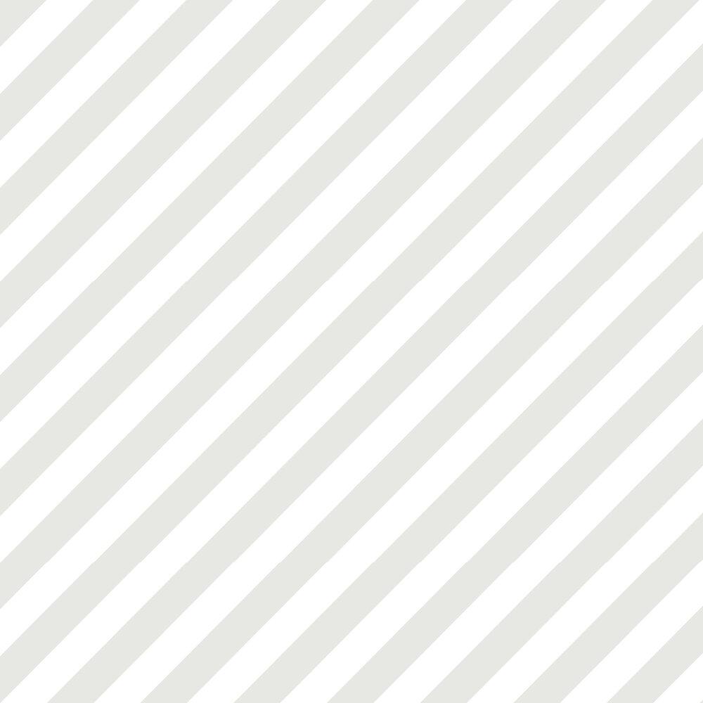 Galerie Large Diagonal Stripe Grey Wallpaper - Product code: ST36914