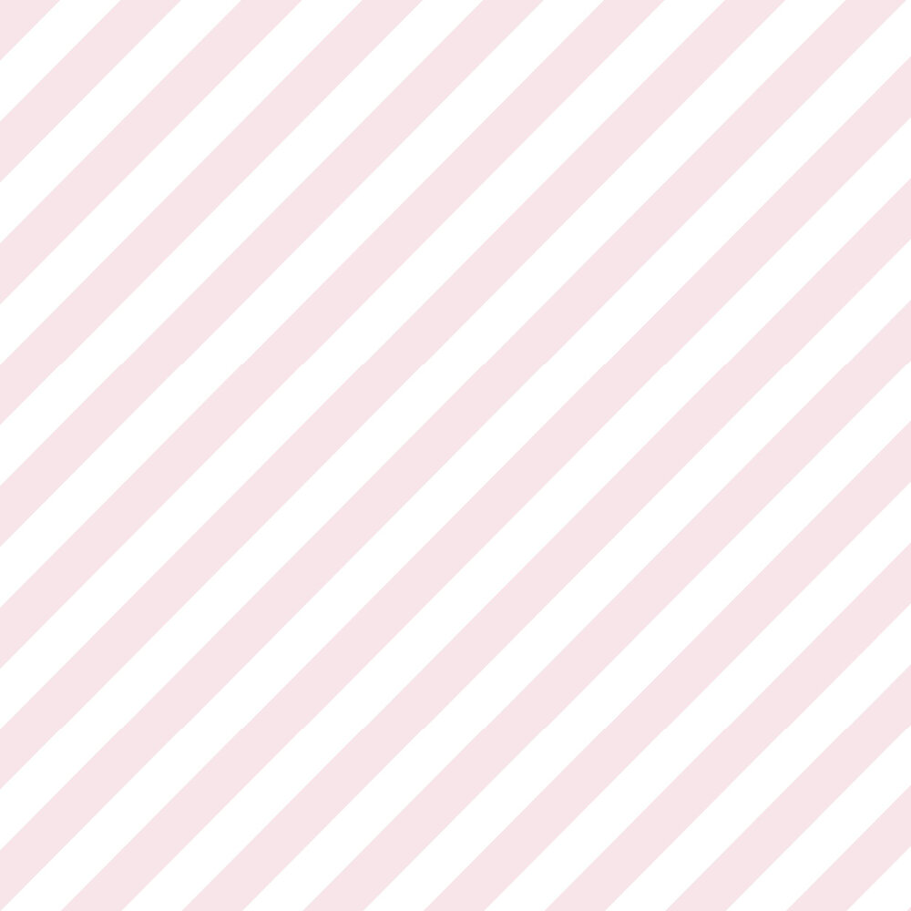 Large Diagonal Stripe Wallpaper - Pink - by Galerie
