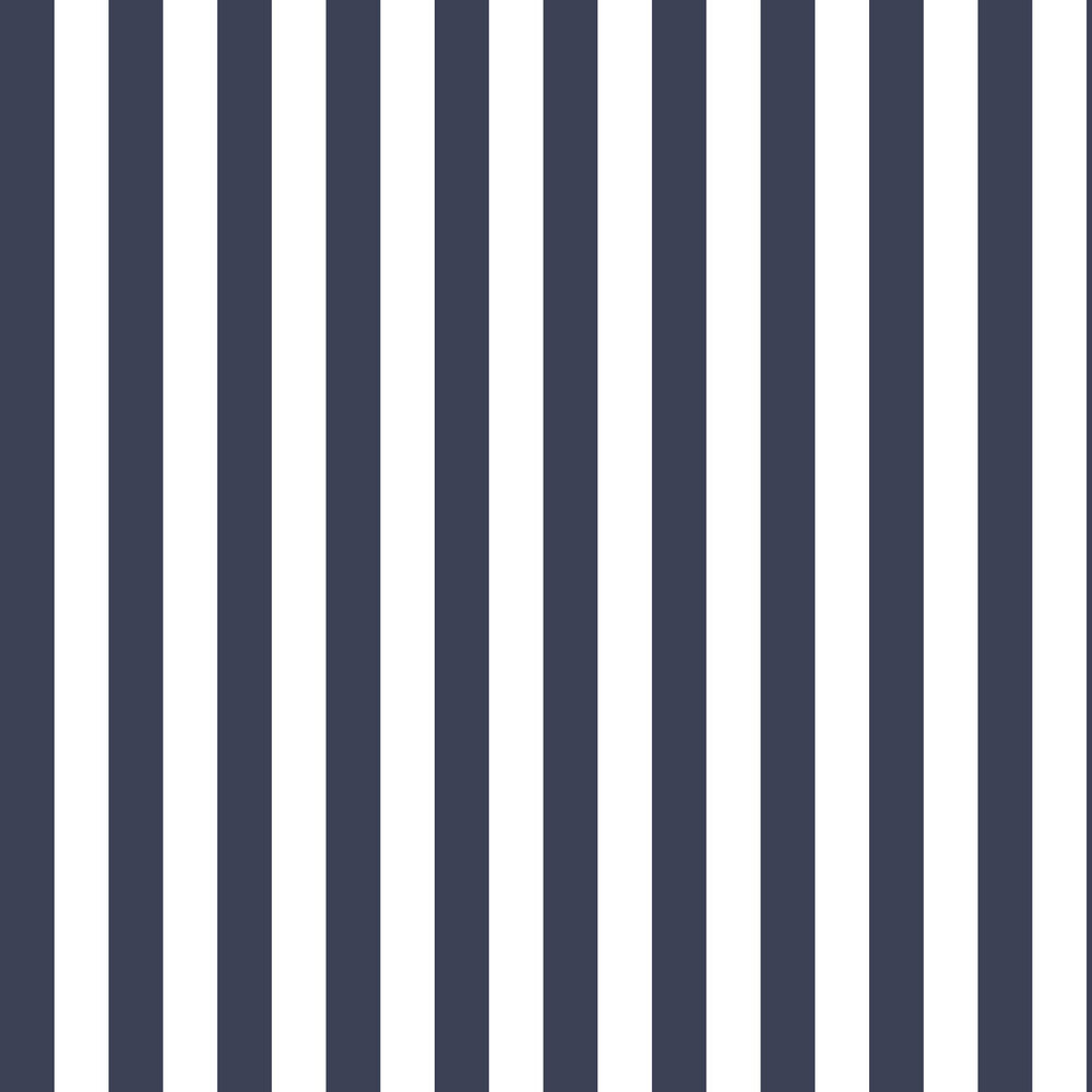 Galerie Large Stripe Navy Wallpaper - Product code: SH34555