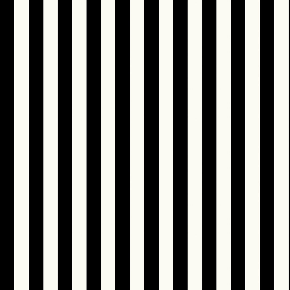 Galerie Large Stripe Pearl / Black Wallpaper - Product code: SY33918
