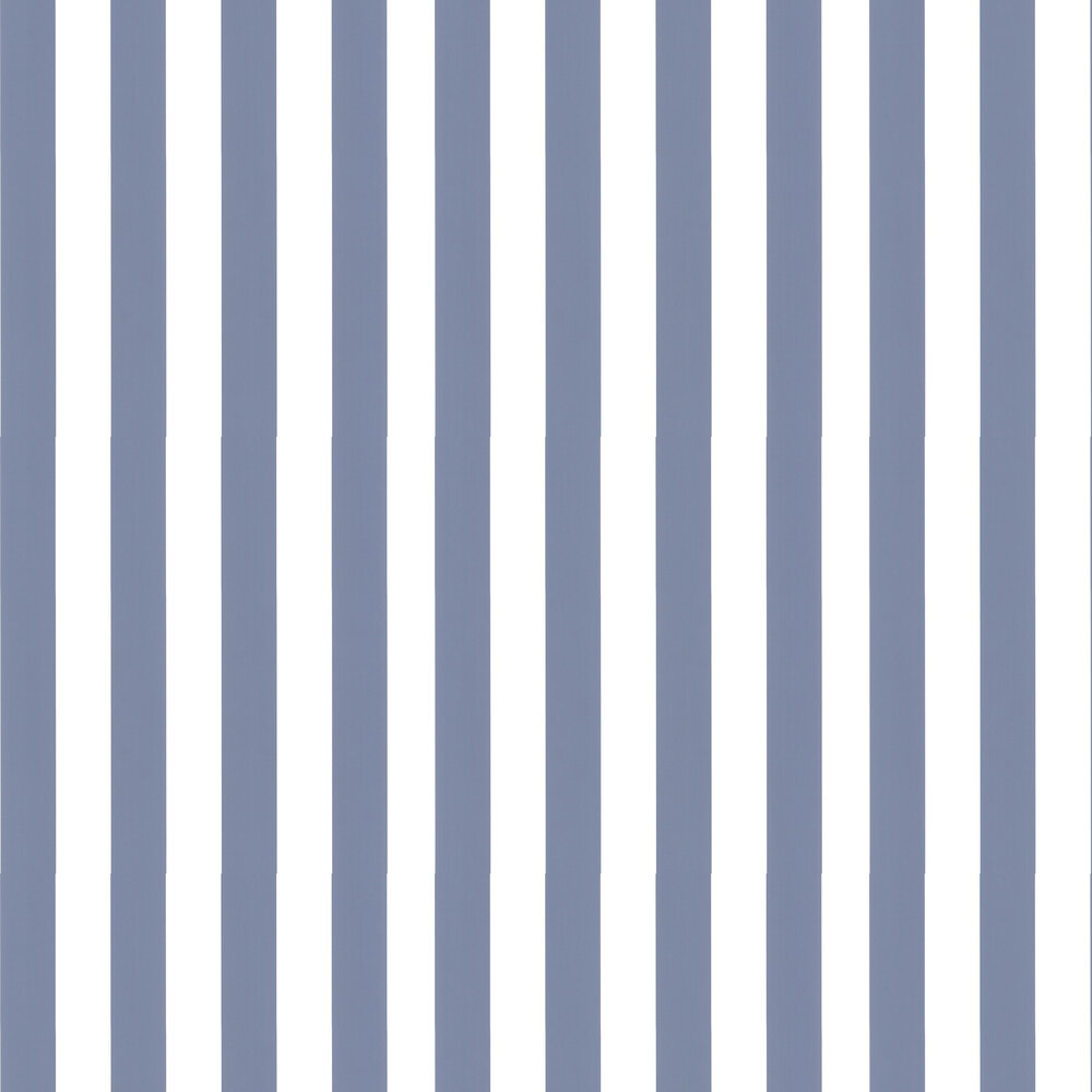 Large Stripe Wallpaper - Blue - by Galerie