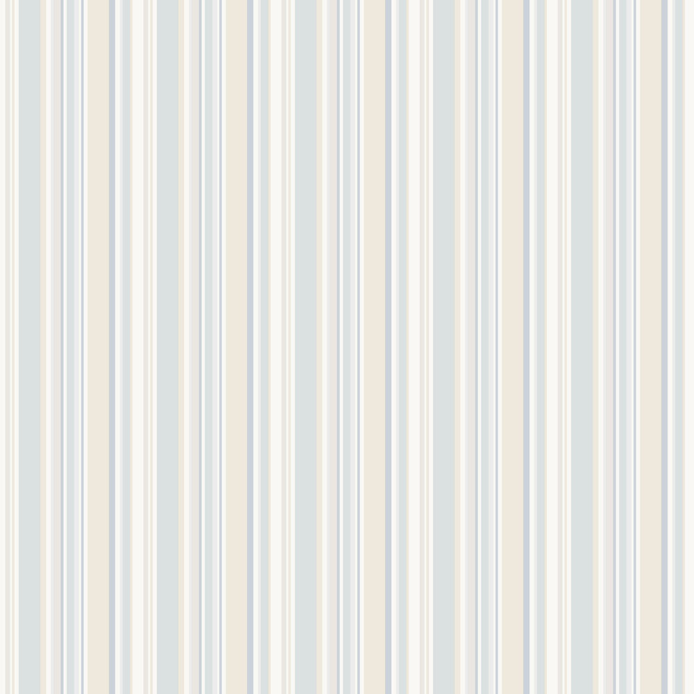 Galerie Multi Stripe Blue / Beige / Taupe Wallpaper - Product code: ST36909