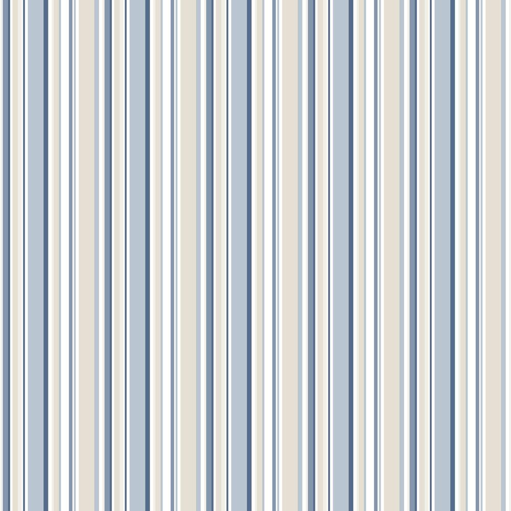 Galerie Multi Stripe Navy / Blue / Beige Wallpaper - Product code: SY33963