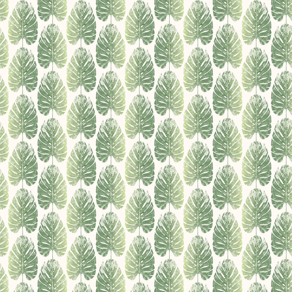 Galerie Monstera Leaves Green Wallpaper - Product code: 7325