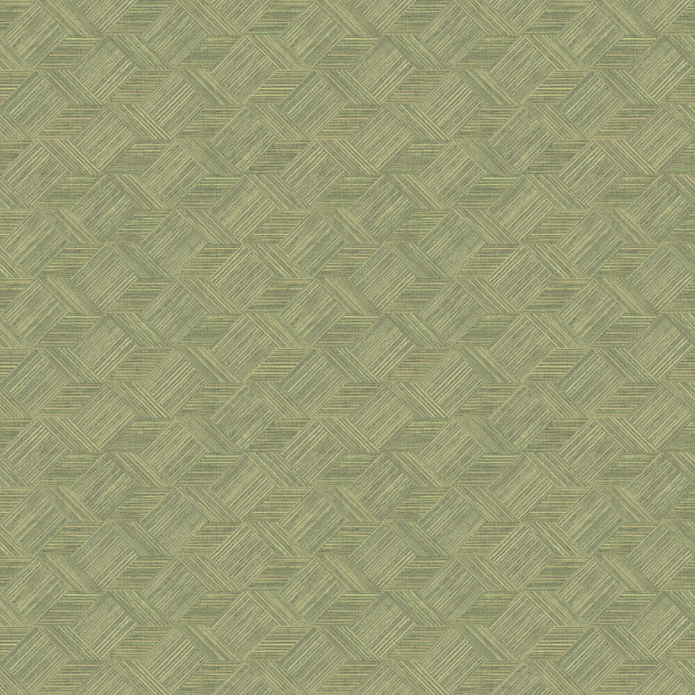 Galerie Stacked Cubes Green Wallpaper - Product code: 7355