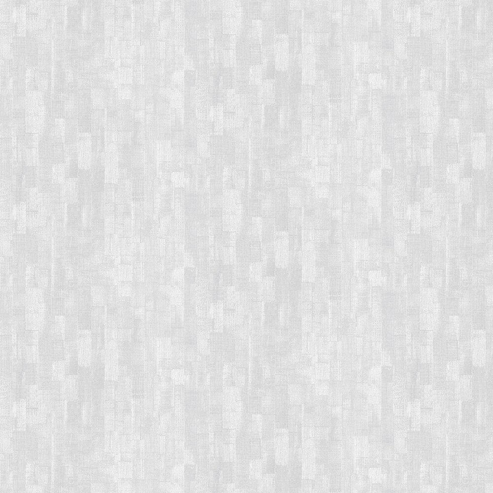 Shoreditch Wallpaper - Silver Grey - by Casadeco