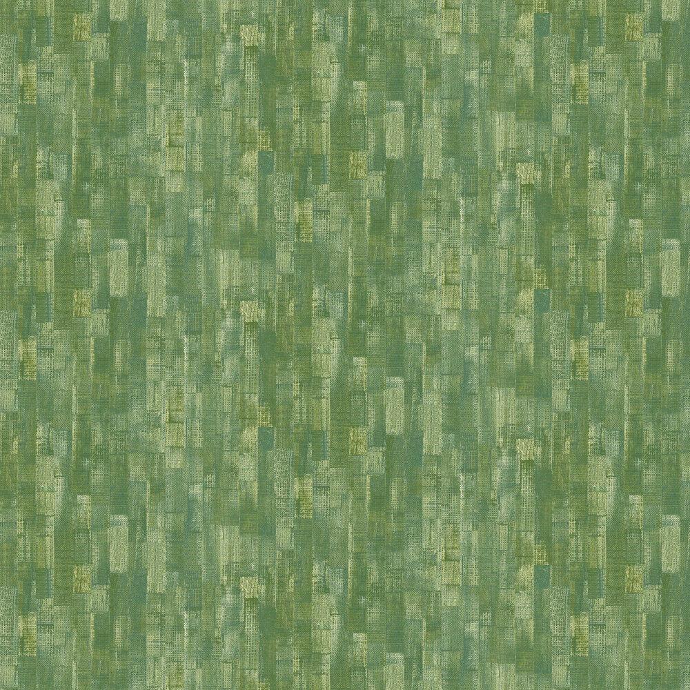 Shoreditch Wallpaper - Moss Green - by Casadeco