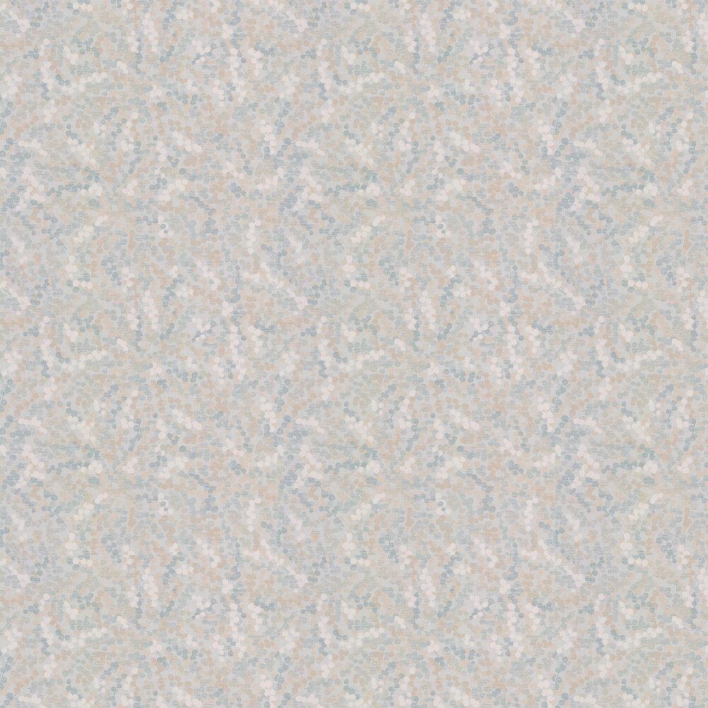 Cecily Wallpaper - Aqua - by Jane Churchill