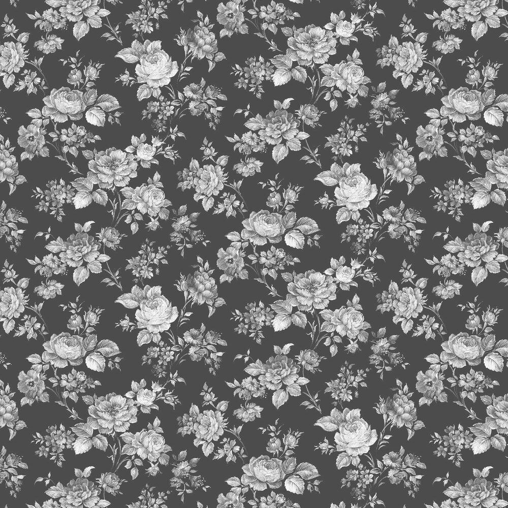 Muse Wallpaper - Noir - by Graham & Brown